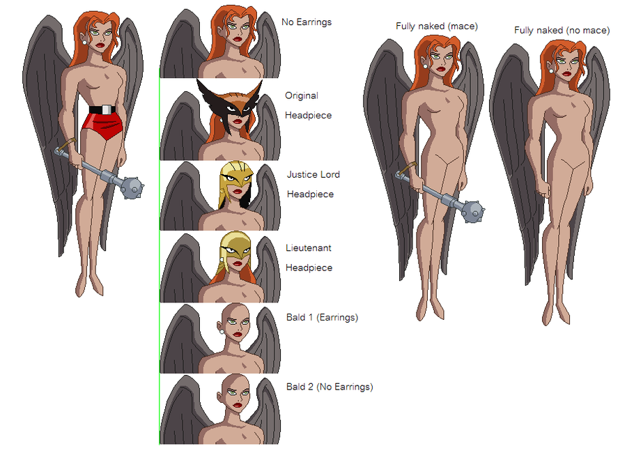Hawkgirl sexy nude — photo 7