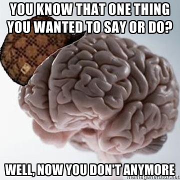 Scumbag Brain - Temporary Knowledge by juanito316ss