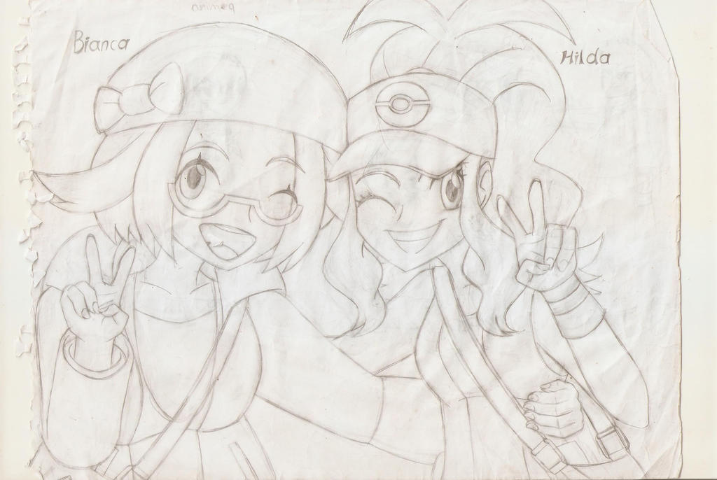 Bianca and Hilda by juanito316ss