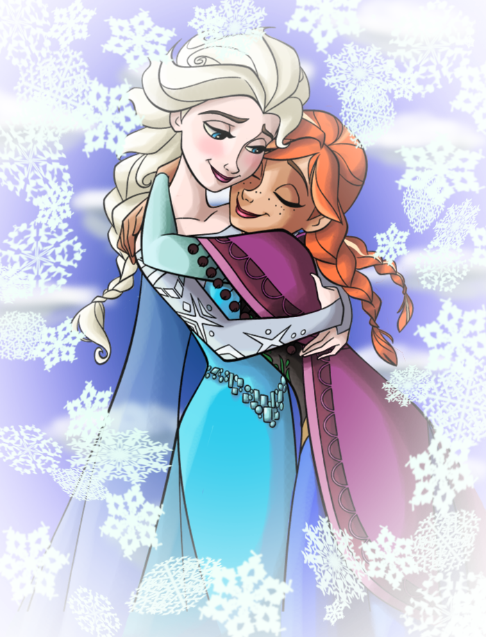 Frozen - Anna and Elsa by juanito316ss