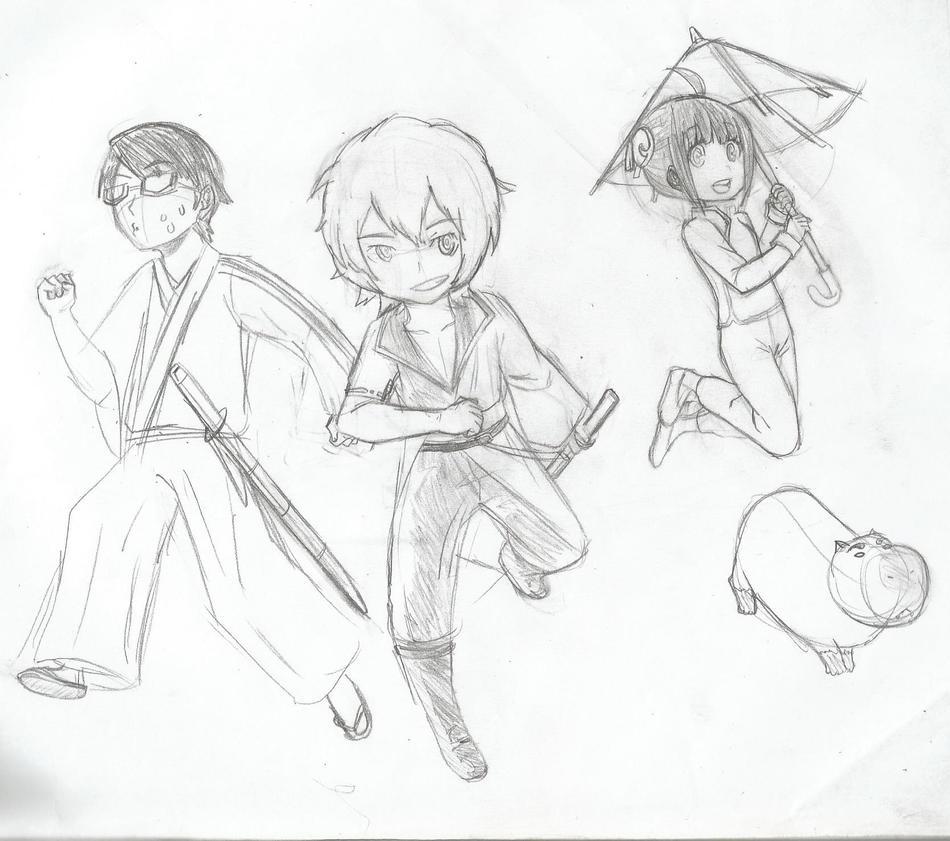 Sketch - Shirotama by juanito316ss