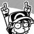 Emoticon - super w00t (SUPER EFFECTIVE) by juanito316ss