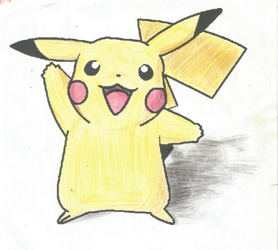 Coloring - Pikachu by juanito316ss