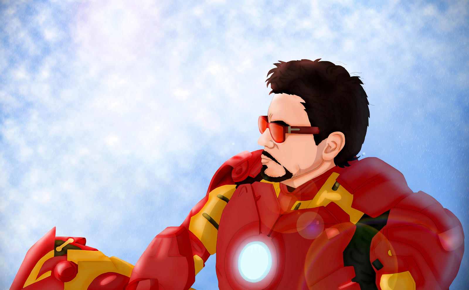 Iron Man by Lightning-Stroke
