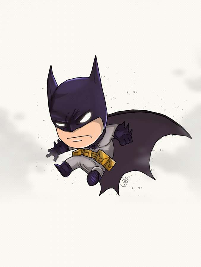 Batman chibi by Lightning-Stroke on DeviantArt