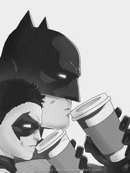 Batman coffee by Lightning-Stroke