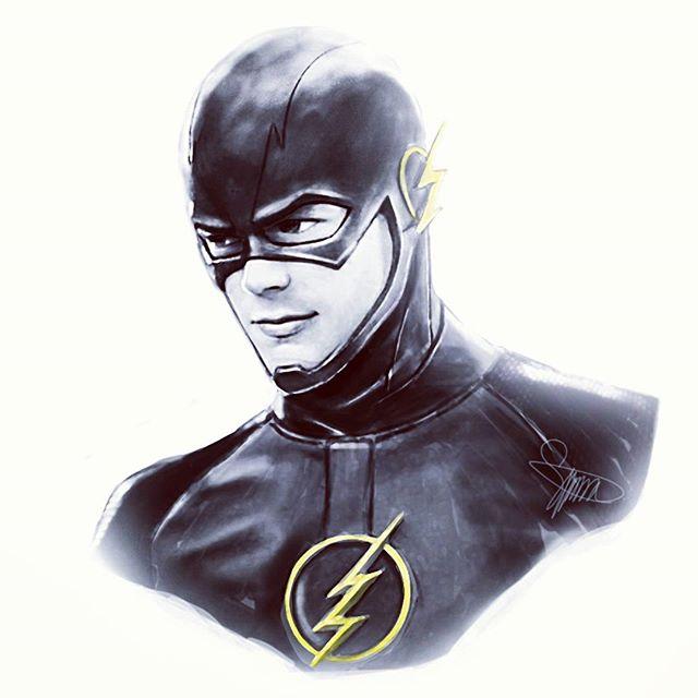 The Flash by Lightning-Stroke