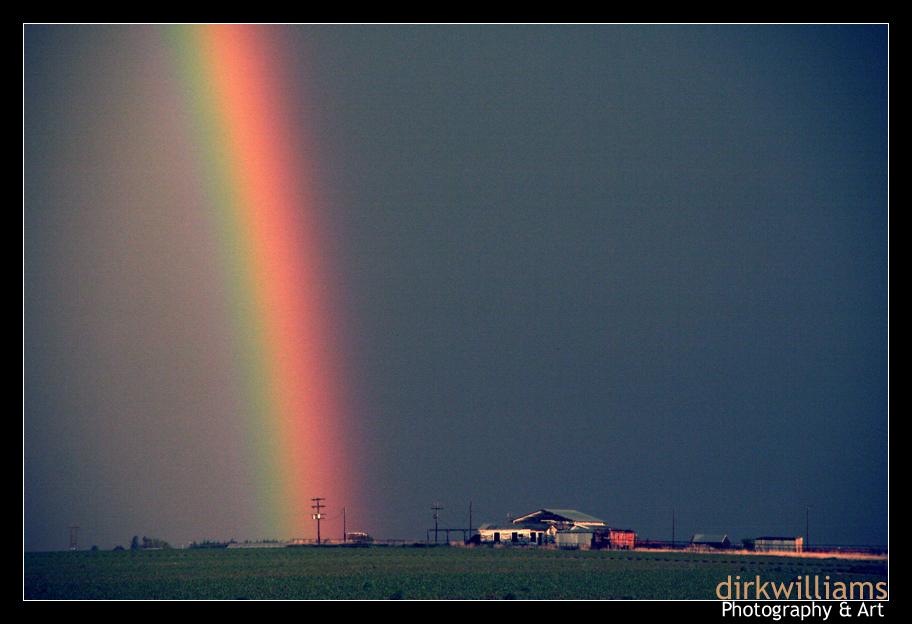 Rainbow Descent by dirkwilliams