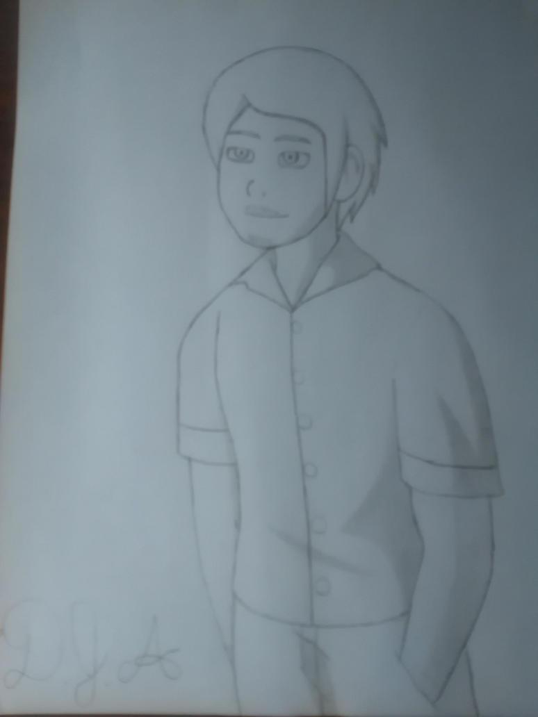 Random Sketch: Adult Denton by Gariandos