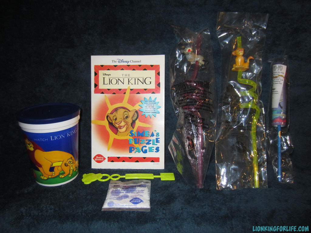 Dairy Queen Toys : Dairy queen kids meal toys by lionkingforlife on