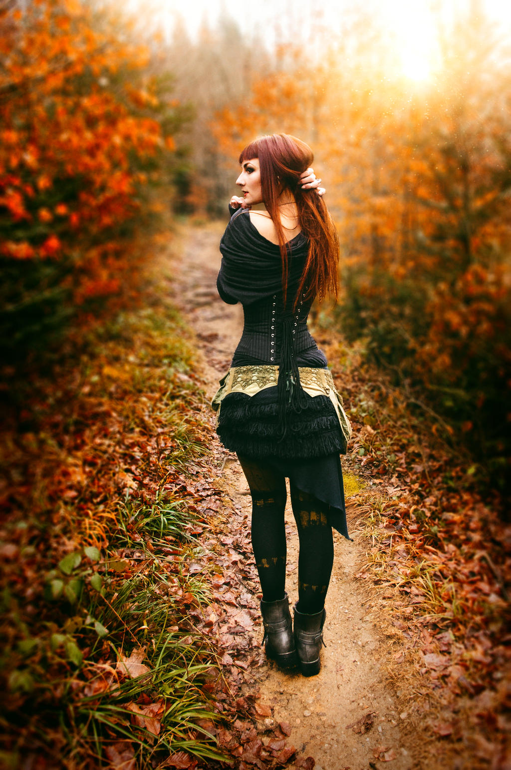 Green Witch 01 by GwendolinWidmann