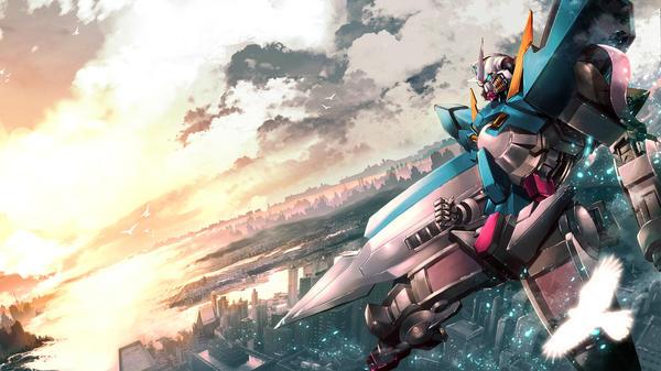 Gundam 00 Wallpaper by ~ZeitgeistGlee on deviantART