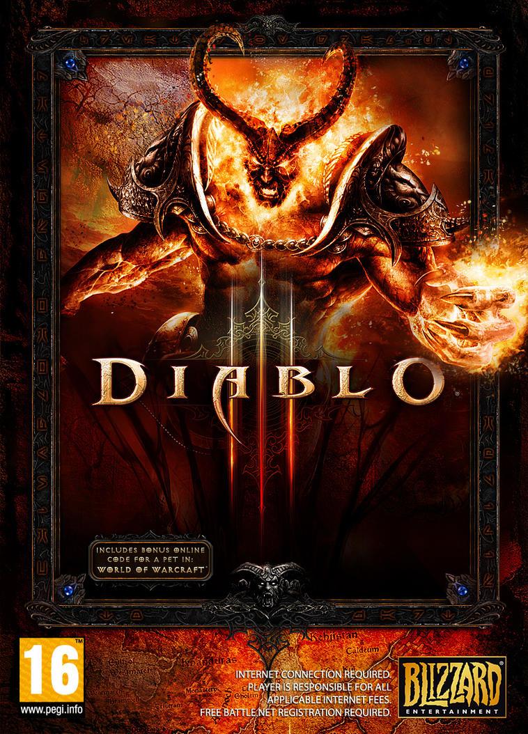 Diablo III PC Box Art Cover by Pharao