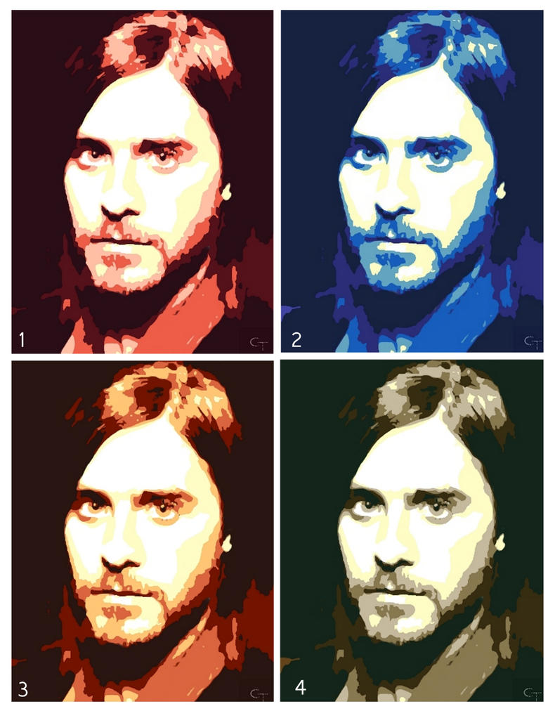 Jared leto popart portraits by beyourself art on deviantart jared leto popart portraits by beyourself art solutioingenieria Image collections