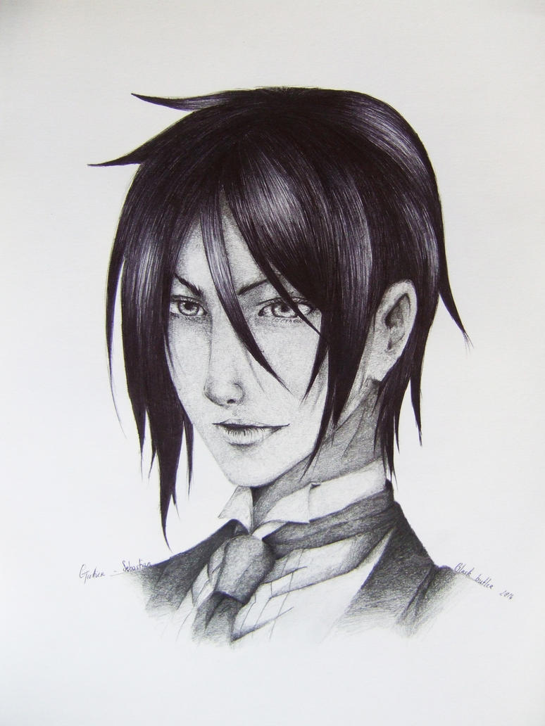 Sebastian Michaelis - Black butler by BeYourself-art