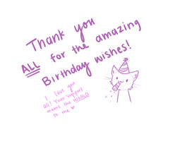 Thank you! by JaidenAnimations