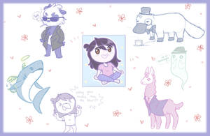 Q and A #3 Drawings! by JaidenAnimations