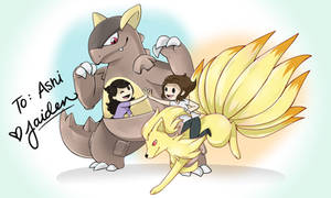 Pokemon Patreon Commission by JaidenAnimations