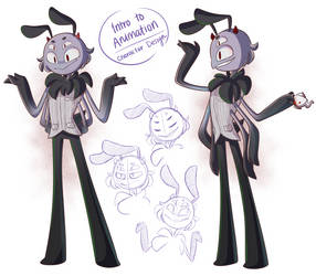 Character Design: spider guy lol