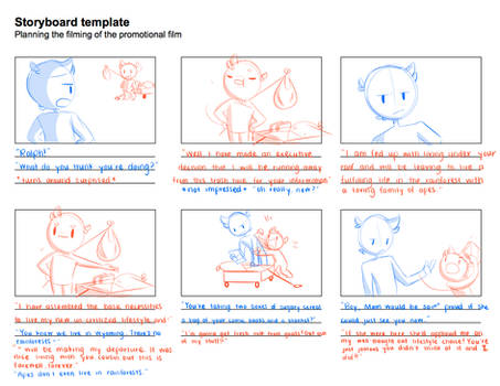 Random Storyboard Assignment by JaidenAnimations