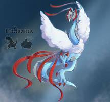 Pokefusion: Haltariux by JaidenAnimations