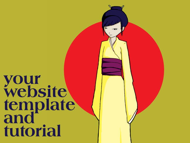 Free Website Template by l-fischer