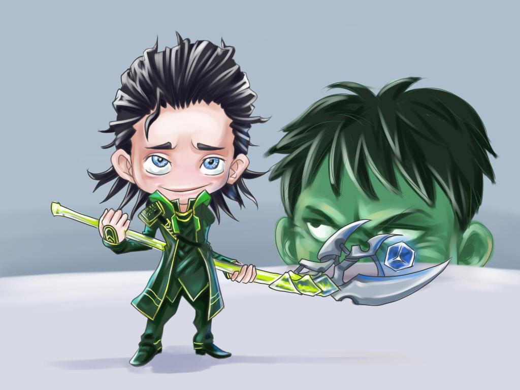 Puny God Loki Avengers Fan Art By Xavy 027 On Deviantart