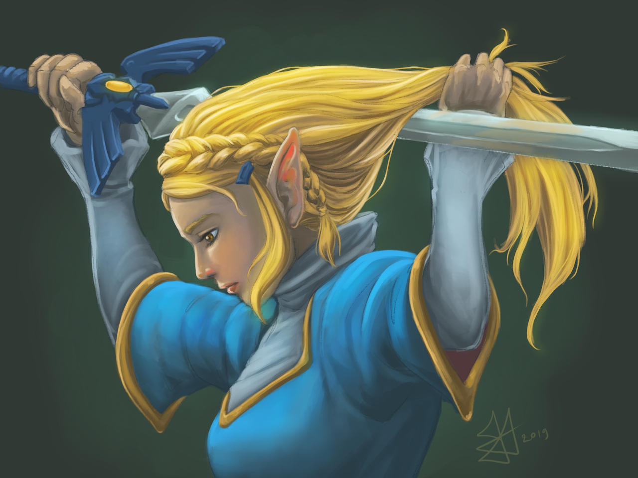 Zelda Botw Fanart By Xavy 027 On Deviantart