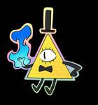 Bill Cipher ( keychain 1 )