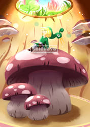 {Fanart} Mushrooms by shion396