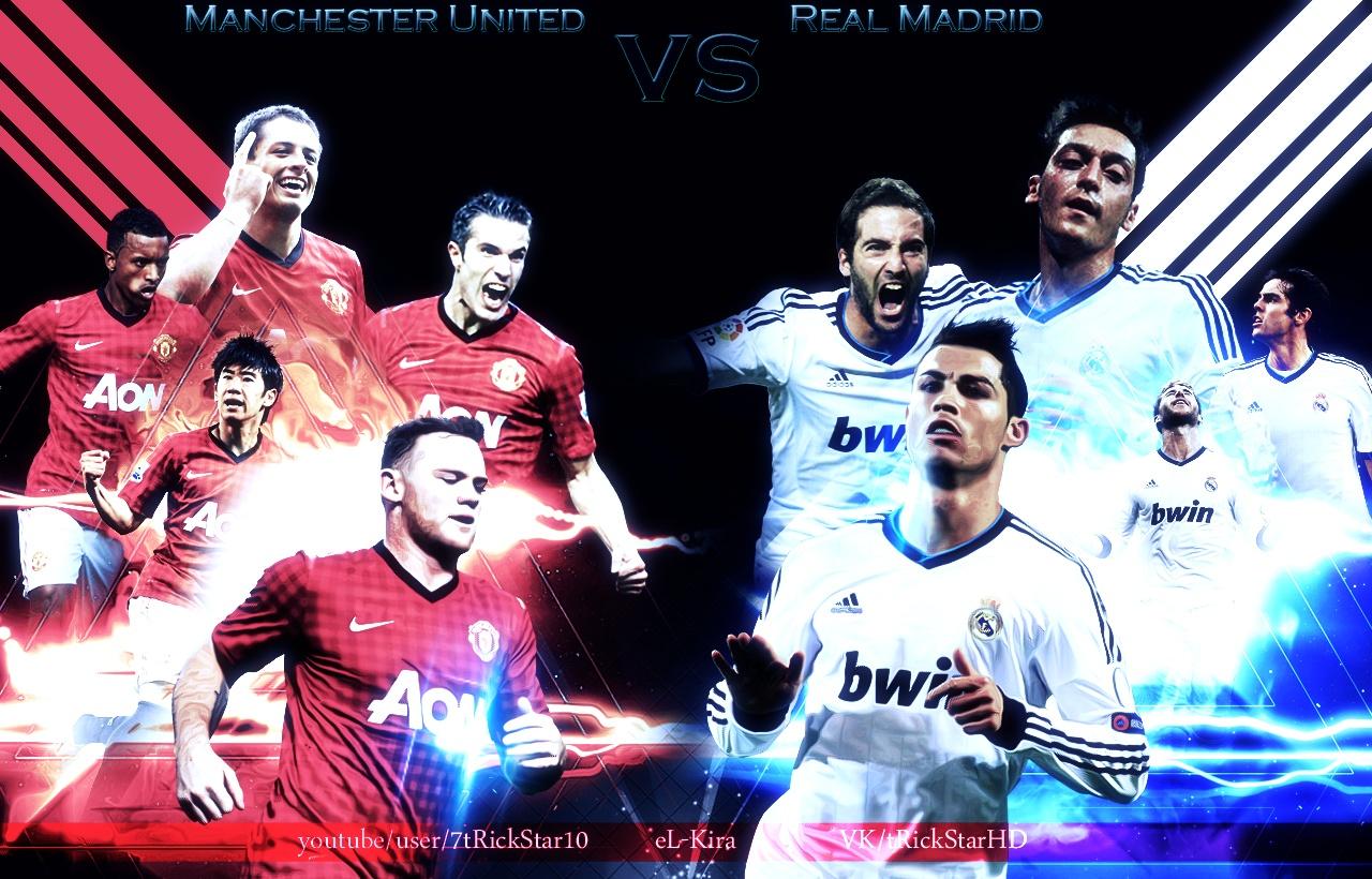 9af98f3d6 Real Madrid vs Manchester United 2012-2013 by eL-Kira on DeviantArt