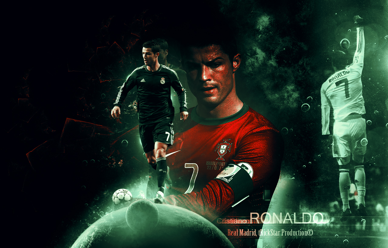 Cristiano Ronaldo Cr Wallpaper Hd By El Kira