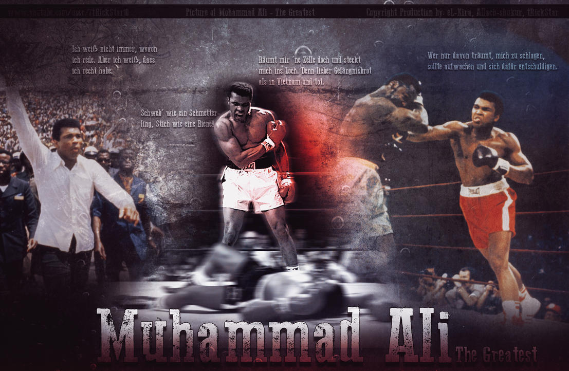 Muhammad ali i will never die 2013 hd wallpaper by el kira on muhammad ali i will never die 2013 hd wallpaper by el kira voltagebd Images