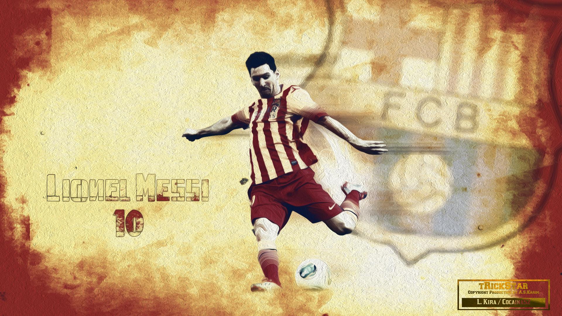 Lionel Messi Background Wallpaper 2016