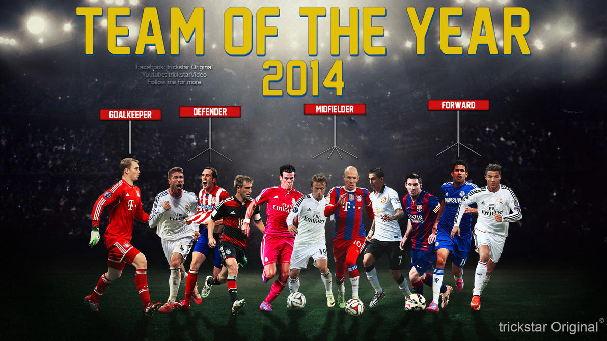 Team of the Year 2014 | by trickstar by eL-Kira