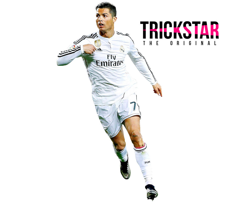 Cristiano Ronaldo vs Barcelona (Away) Render 14-15 by eL-Kira