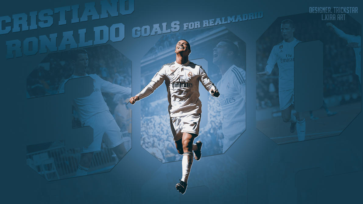 Cristiano Ronaldo - 300 Goals for Realmadrid |2015 by eL-Kira