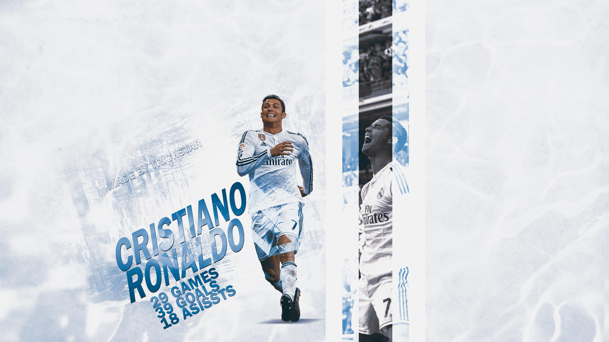 Cristiano Ronaldo - 50 Goals |2014/2015| Wallpaper by eL-Kira