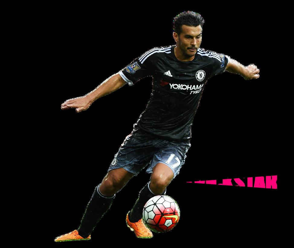 Pedro Rodriguez - Render | 2015/2016 | FC Chelsea by eL-Kira