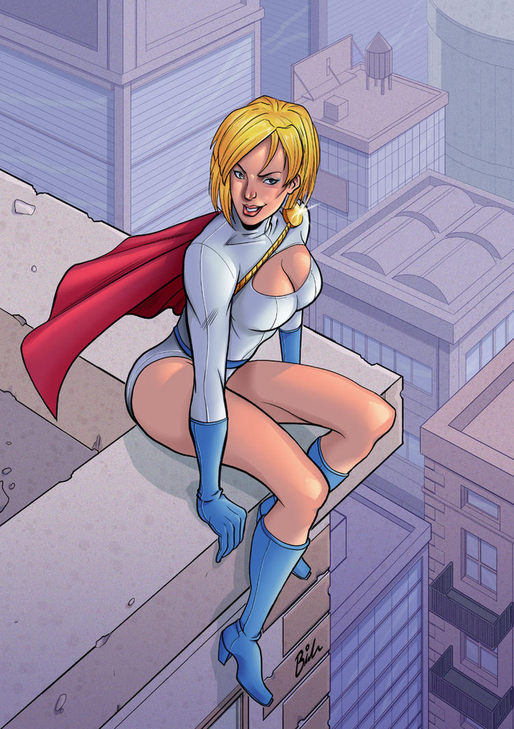 Power Girl by BernyArrBee
