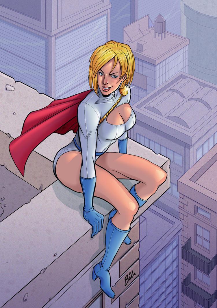 Power Girl by BernyArrBee