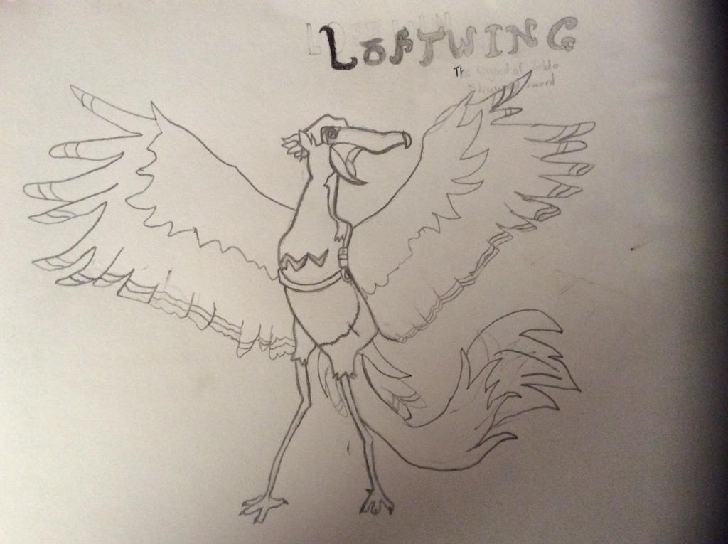 Unshaded Loftwing by yorkylover2