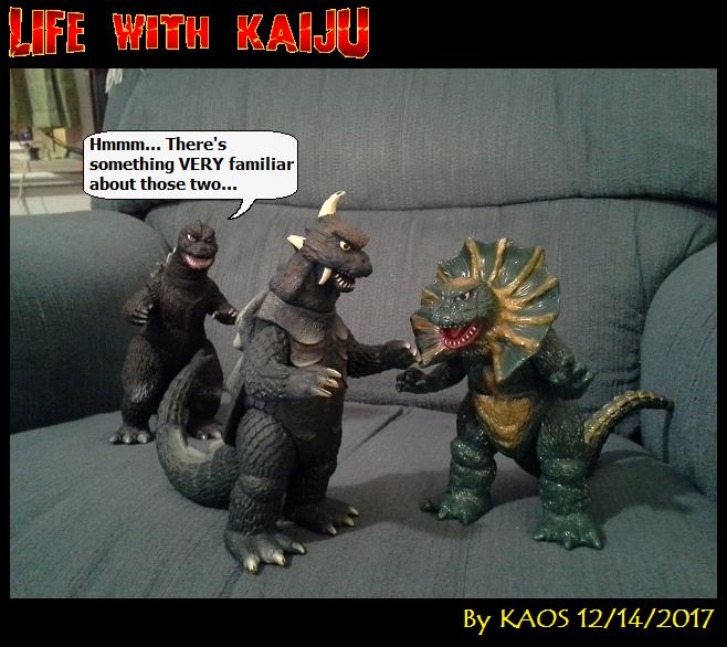 LIFE WITH KAIJU Filler #04 by KaosJay666