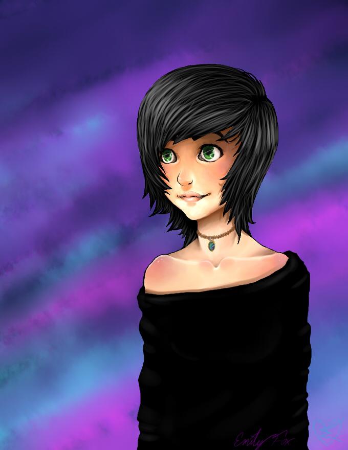 doodle of myself :3 by sam13gidget