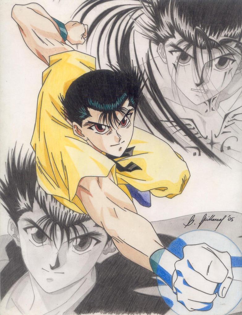 Yusuke urameshi by raijinoken on deviantart for Yusuke demon