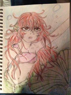 the little mermaid by DamaraOmohundro