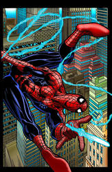 Spidey 201 colored by ericalannelson
