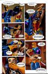 Wonder Woman DeathStroke 2 by ericalannelson