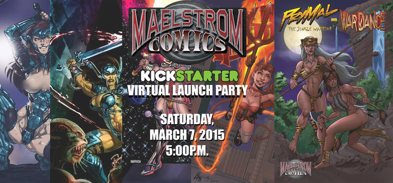 Maelstrom Comics March 2015 by ericalannelson