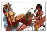 Prymal WarDance Tickle commission color